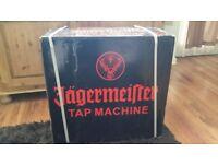 Brand new in box jagermeister tap machine