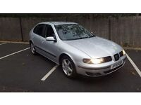 SEAT LEON 1.9 TDI 2002 .MOT 7 MONTHS.5DOORS.LEATHER SEATS.
