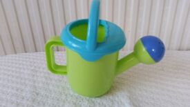 Childrens lime green and blue plastic watering can from Early Learning Centre