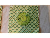 BE BOP DELUXE - Electrical Language and Panic In The World Vinyl 45 Demo Singles.