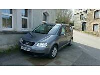 Vw touran 1.9 tdi 7seater