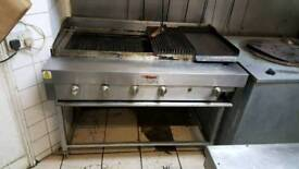 Commercial grill for sale 6 burner