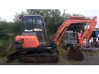 zx30 hitachi 3 tonne digger