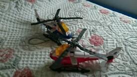 2 large Tonka hellicopters