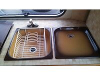 Caravan/Motorhome Sink and Drainer
