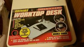 Drivers worktop desk