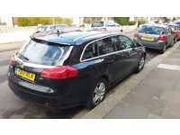 Vauxhall Insignia 2.0 CDTi 16v Exclusiv 5dr Great Condition. Cheap to Tax. PCO ready