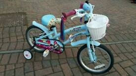 Girl bicycle with stabilizer (removable)