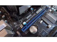 Intel i5-2400 + MSI Motherboard + 16GB Crucial RAM