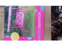 Pink kids hammock