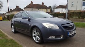 Vauxhall Insignia SRI 1.8 i VVT 16 V Bi Fuel Petrol/Gas SAT NAV Estate Manual 2010