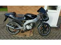 Aprilia rs50 Spares or repairs / project Lowside accident damage