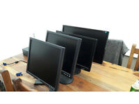 "Philips 24"" 241E Widescreen Monitor + 20"" LG Monitor and 2 x 17"" Dell Monitors"
