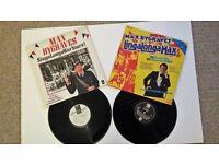 2 Max Bygraves Vinl LPs vintage