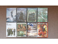 8 DVDs (5 new) The Matrix,Spiderman,Transformers,Pirates of the Caribbean,Office