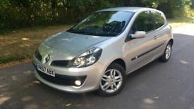 Renault clio dynamique dci 1.5 3dr £30 tax