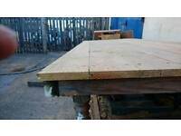 Larch and Douglas fir flooring and tongue and groove Weatherboard