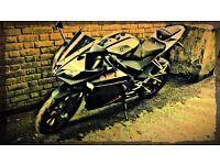 Yamaha R125 new shape fully loaded!