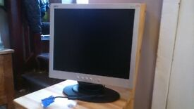 "17"" Acer Flatscreen Monitor"