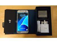 Samsung Galaxy S7 Titanium Silver New Unlocked