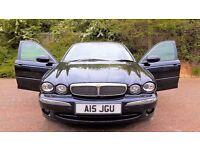 Jaguar Xtype Sovereign 2.0l Diesel Private Reg Midnight Black 104000 Miles 2007, FULL Ivoy Interior.