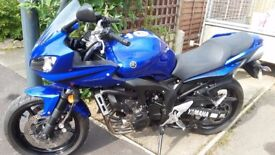 Yamaha FZ6 FAZER S2 Low mileage and in fantastic condition