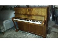 Walnut ? Piano in Excellent Condition