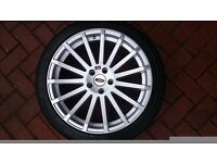 Ford Focus RS Alloys 225/40/18