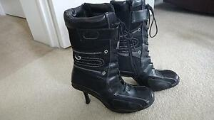 Womens Spring heel boots