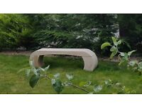 Arched bench