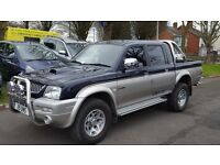 2005 MITSUBISHI L200 2.4DIESEL 4X4 PICK UP TRUCK ++GENUINE MILEAGE++REVERSE CAMERA++CENTRAL LOCKING+