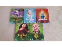 5 Disney blu ray - Frozen, Tangled, Wreck-it Ralph, Meet the Robinsons, Emperor's New Groove