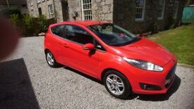 Ford Fiesta Zetec eco 3door, 1.0 only one owner, nil road tax, full service history, 12 months MOT