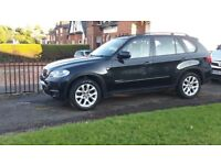 BMW X5 2011. Black. FBMWService history. Cream leather interior. New tyres, breaks, discs. 1year MOT