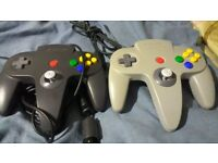 2 n64 controllers