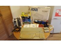 Atari 520 ST Boxed +RAM UPGRADE + Games + Extras Fully Working!