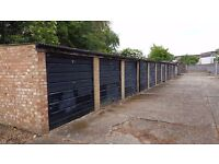 Garages available NOW: Faraday Road West Molsey KT8 - GATED SITE