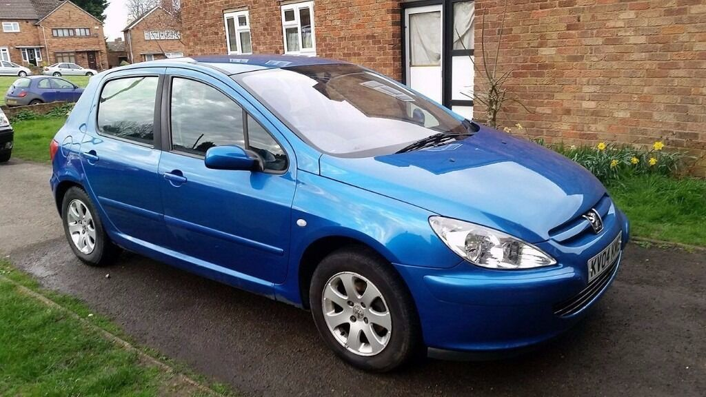 peugeot 307 2004 1 6 l petrol 5 door 9 months mot blue good condition for age in rugby. Black Bedroom Furniture Sets. Home Design Ideas
