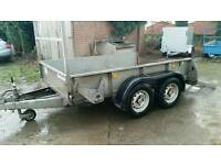 8 X 5 ifor Williams trailer twin axle Cookstown