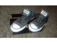 Unisex grey colour converse all stars