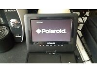 Polaroid portable dvd player