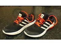 Adidas Running Galaxy Elite Trainers Black / Orange Mens - Size UK 6