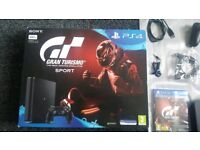 PS4 Slim GT Sport Bundle