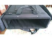 "3U 19"" Rack case / bag. Great for transporting studio gear."