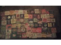 Large 1980's Beermat Collection