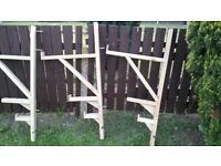 3 X Quality heavy duty wood timber shelving Bracket