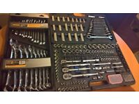 halfords advanced socket set and spanner set