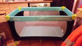 Hauck Dream'n Play Travel Cot NEW