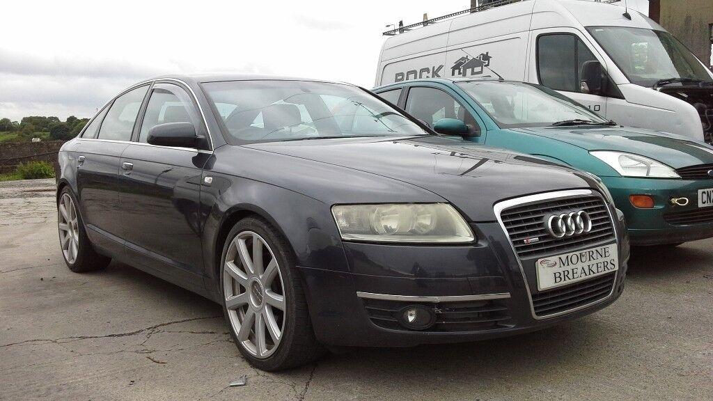 **FOR BREAKING** 2006 Audi A6 S-line 3.0 Tdi Quattro (auto).