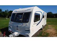 Bailey Pegasus II Milan 2011 4 berth caravan with Side Dinette, GREAT CONDITION